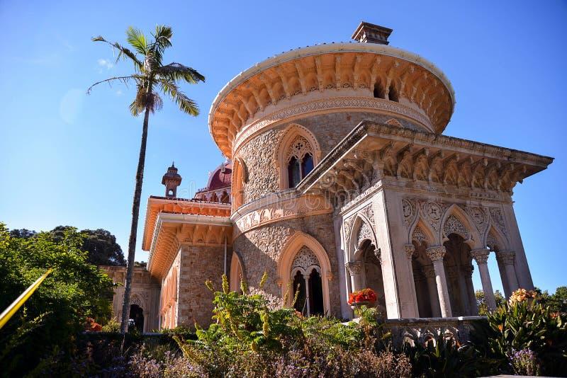 Montserrat Palace in Sintra royalty-vrije stock fotografie
