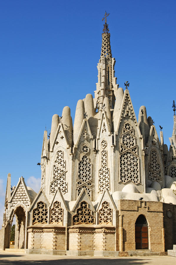 Download Montserrat's Sanctuary, Montferri, Spain Stock Image - Image: 14172411