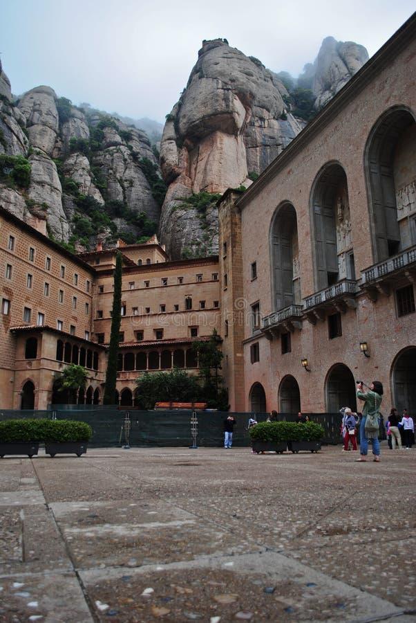 Montserrat, Spain royalty free stock photos