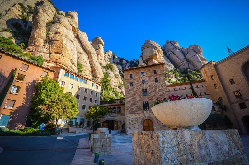 Montserrat Spain fotos de stock