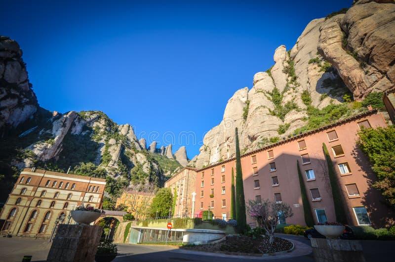 Montserrat Spain imagens de stock royalty free