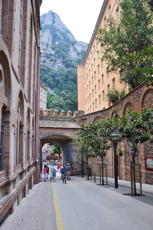Montserrat straat royalty-vrije stock foto
