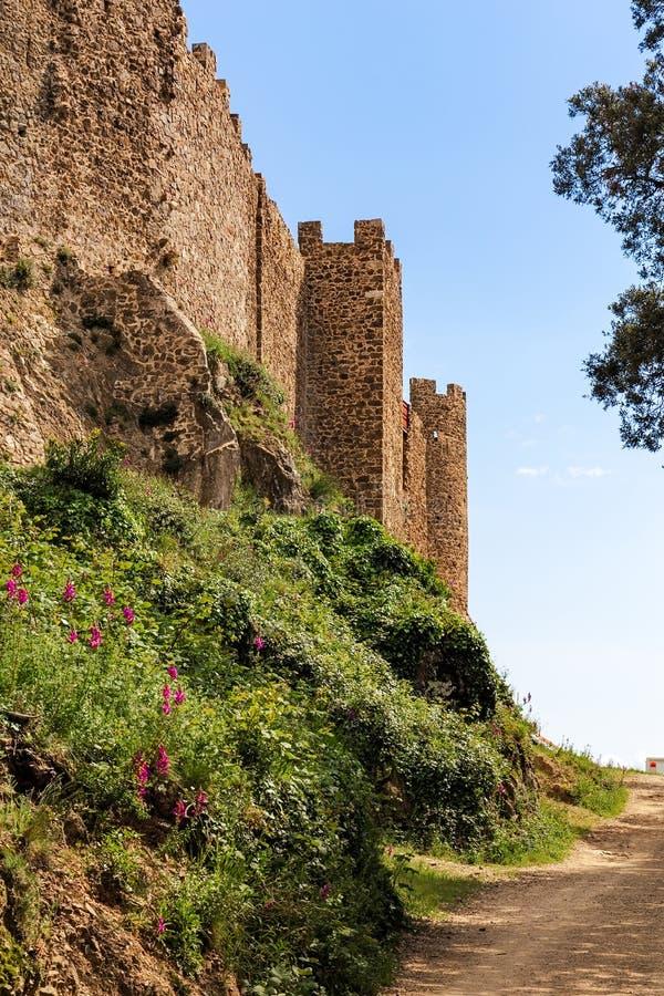 Montsoriu城堡,加泰罗尼亚 免版税库存照片