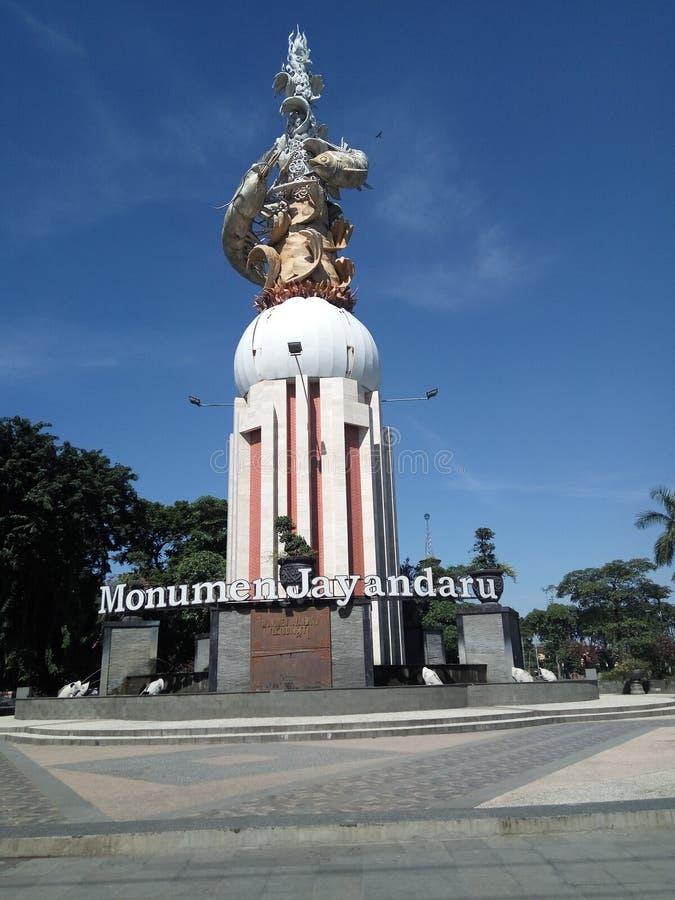 Monumen Jayandaru 库存图片
