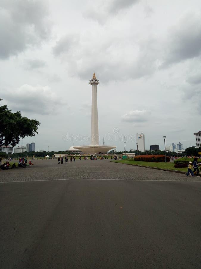 Monumen nasional arkivbilder
