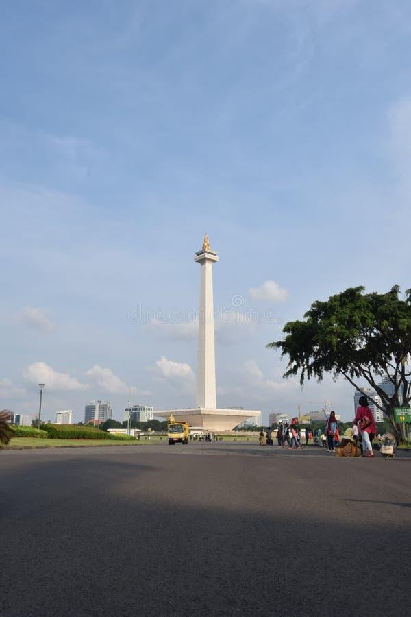 Monumen nasional stock photos