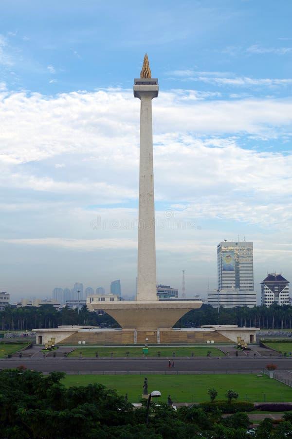 Monumen Nasional Jakarta lizenzfreie stockfotografie
