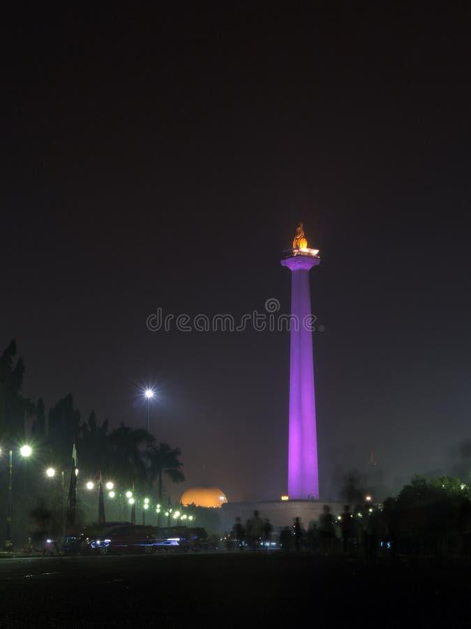 Monumen Nasional Jakarta royalty-vrije stock foto's