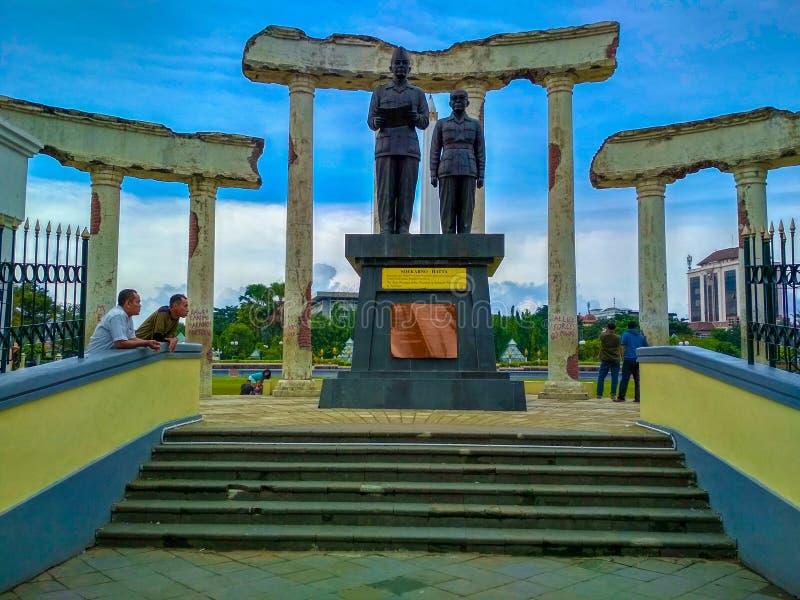 Monumen Pahlawan zero imagens de stock