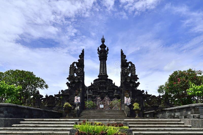 Monumen Perjuangan Rakyat巴厘岛 免版税图库摄影