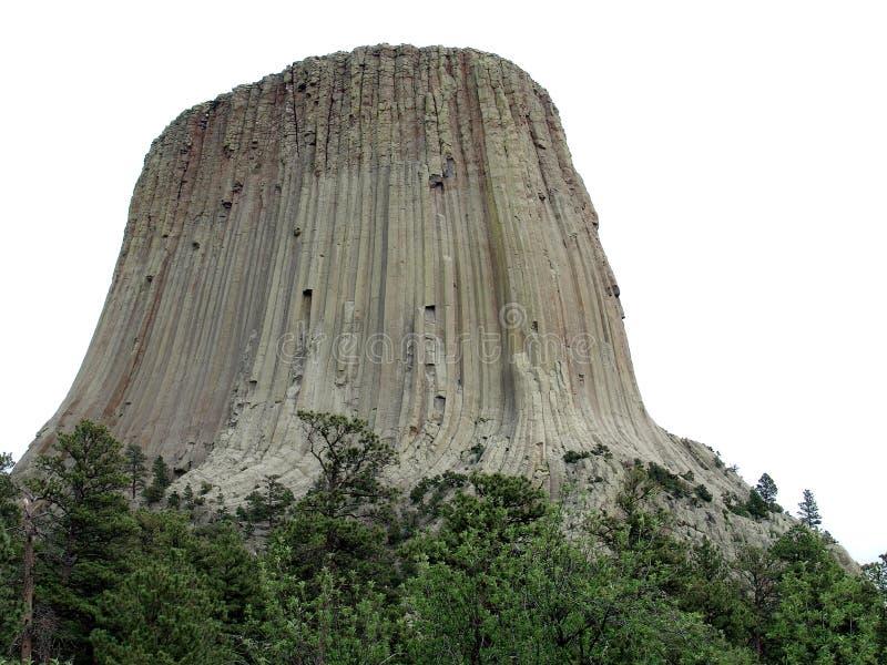 Monumenet del nacional de la torre de los diablos fotografía de archivo