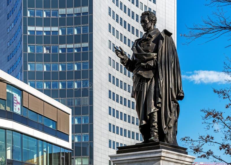 Monument à Albrecht Thaer images stock
