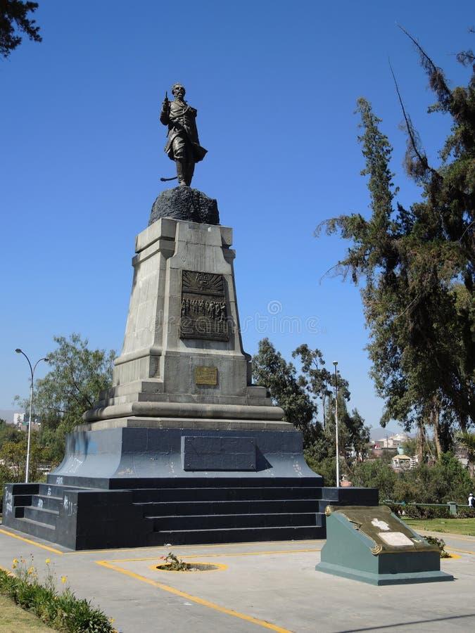 Download Monument à Arequipa, Pérou photographie éditorial. Image du plaza - 77161992