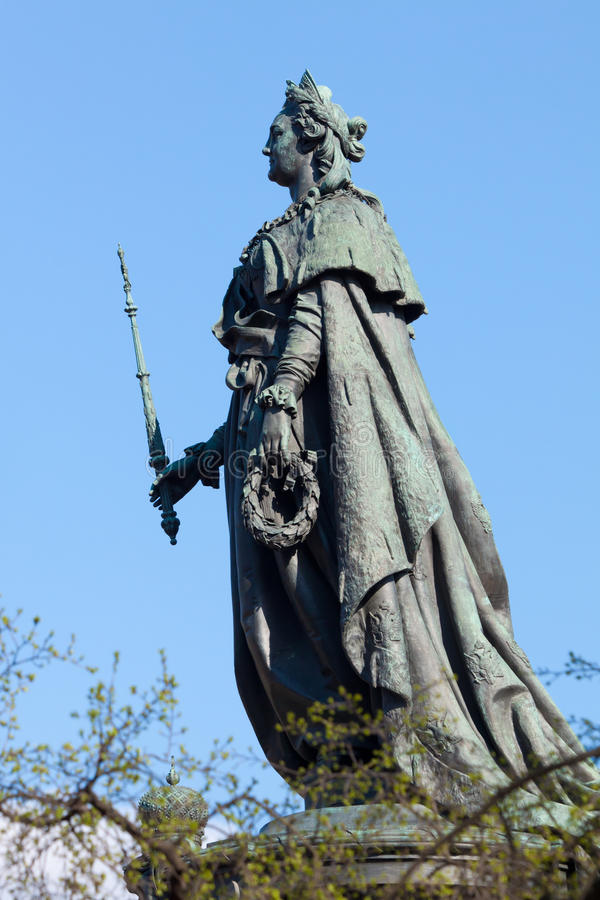 Monument à Catherine II image stock