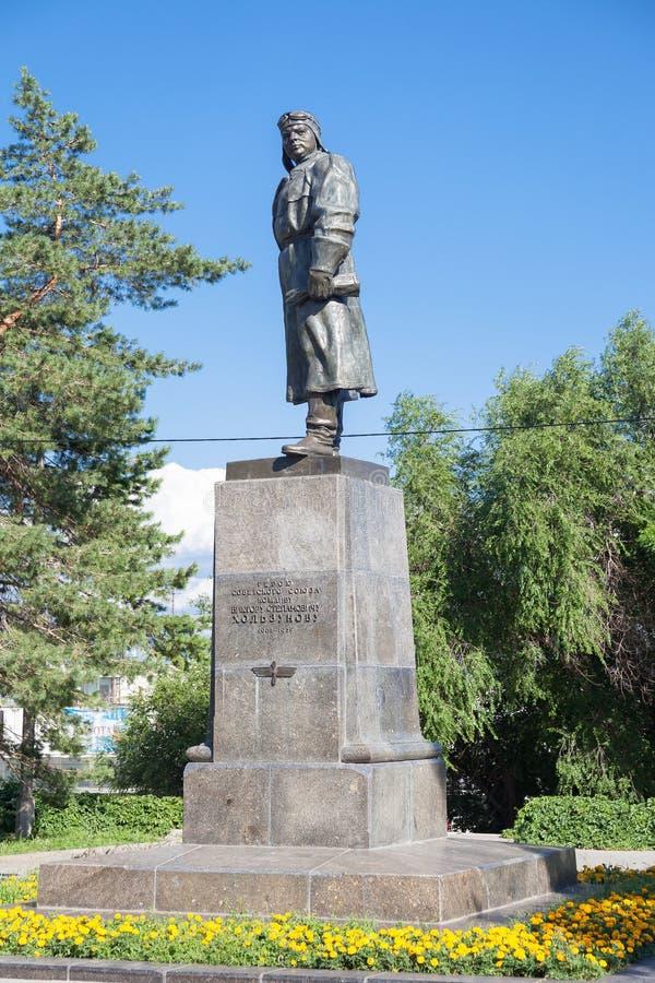 Monument à Holzunov V S volgograd images stock