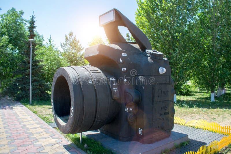 Monument à l'appareil-photo de DSLR photos stock