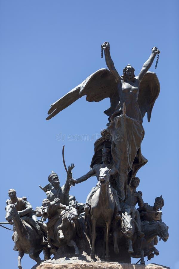 Monument à l'armée des Andes, Mendoza photographie stock libre de droits