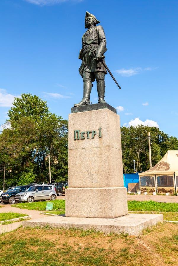 Monument à l'empereur Peter grand Peter I photo libre de droits
