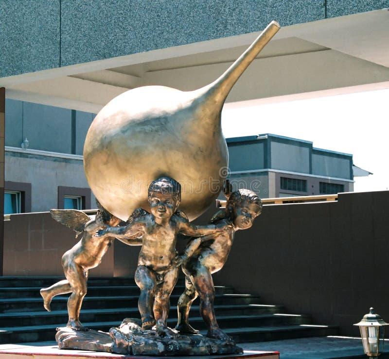 Monument à l'Enema. photo libre de droits