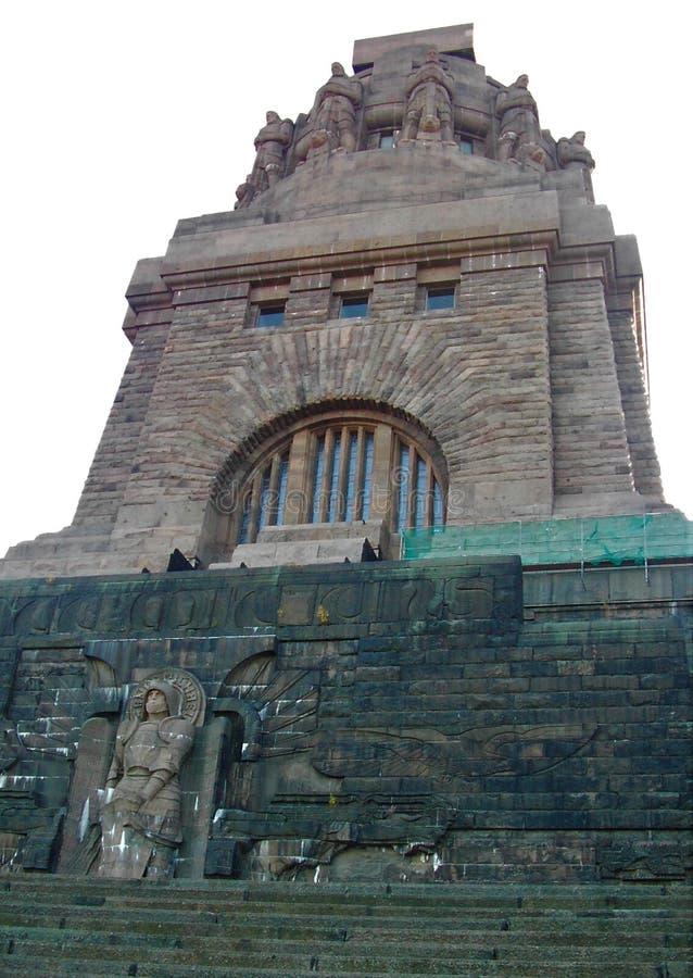 Monument à la bataille des nations Leipzig photographie stock libre de droits