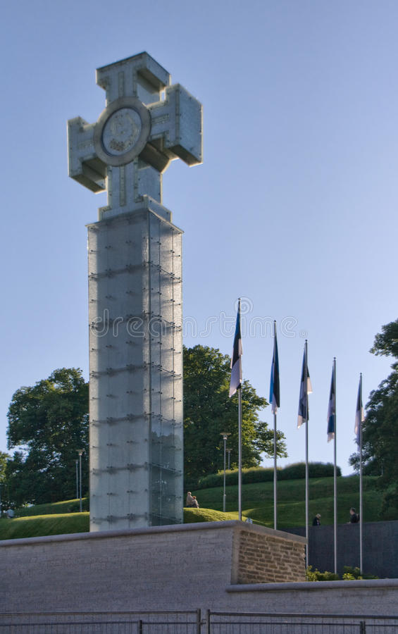 Monument à la Guerre d'Indépendance image stock