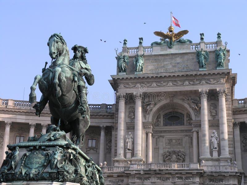 Monument à prince Eugene à Vienne, Autriche photo libre de droits