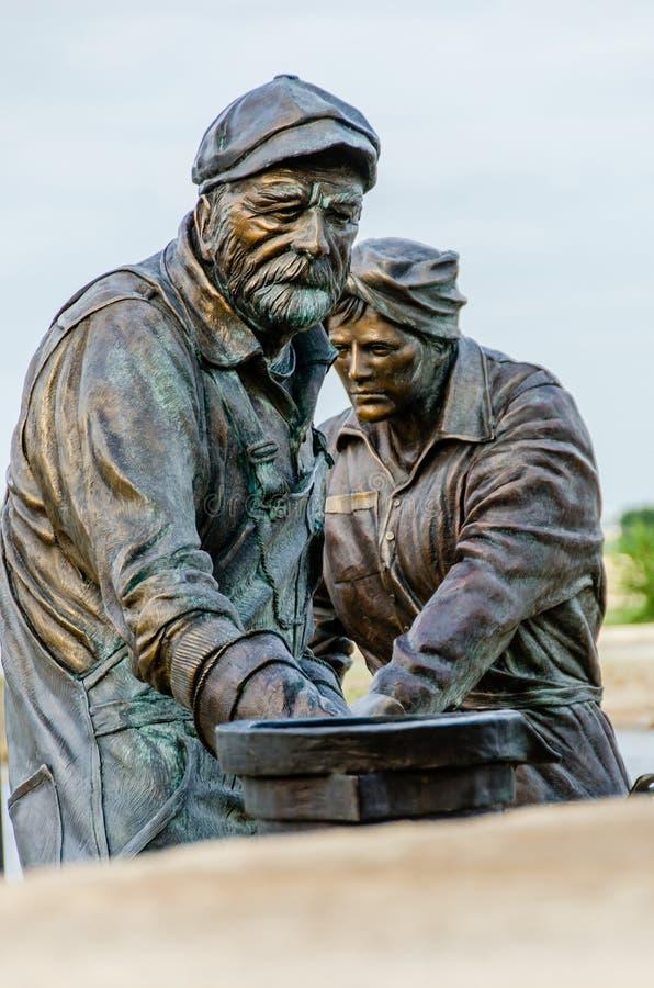 Monument à travailler image libre de droits