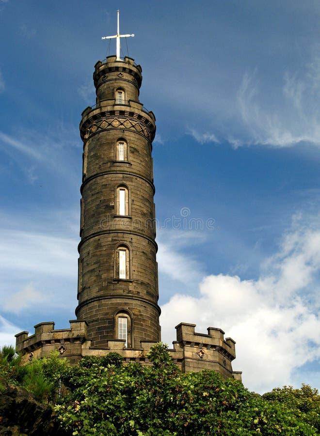 Monument 02 d'Edimbourg, Nelson image libre de droits
