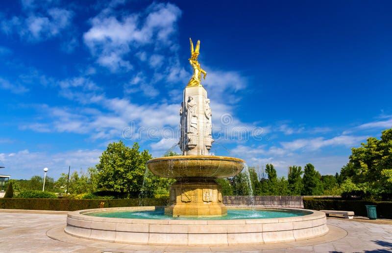 Monument aan Amerikanen in Reizen royalty-vrije stock foto