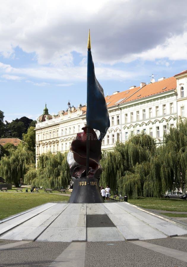 Monument aan de militairen royalty-vrije stock foto