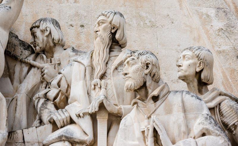 Monument aan de Ontdekkingen, Lissabon, Portugal stock afbeelding