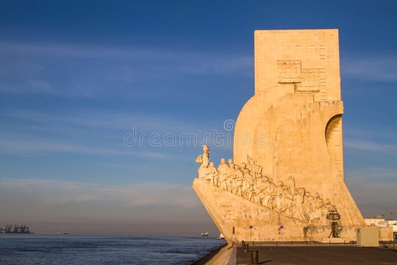 Monument aan de Ontdekkingen (Padrão-Dos Descobrimentos) royalty-vrije stock afbeelding