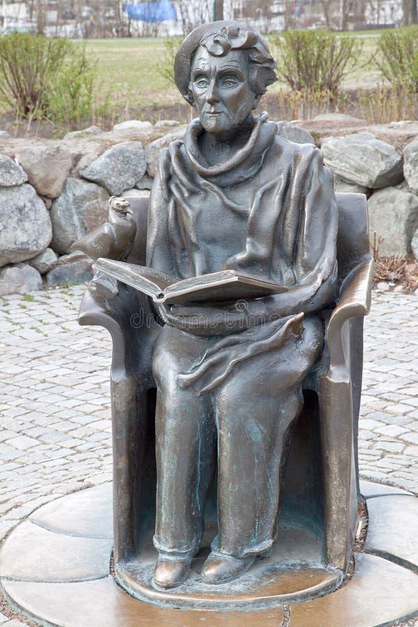 Monument aan de schrijver royalty-vrije stock afbeeldingen