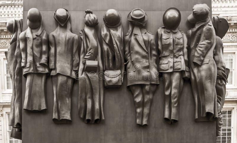 Monument aan de Vrouwen van Wereldoorlog Twee stock foto