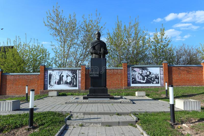 Monument aan Dmitry Pozharsky royalty-vrije stock foto