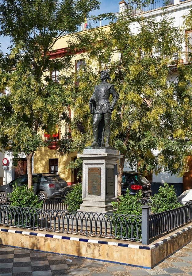 Monument aan Don Juan T stock foto