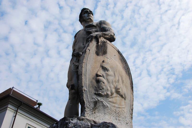Monument aan Garibaldi stock afbeelding
