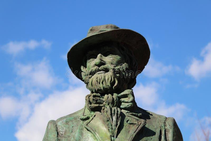 Monument aan Giuseppe Verdi stock foto's