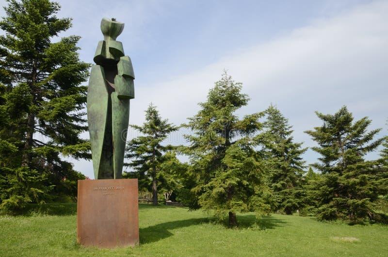Monument aan Heilige Francis Xavier stock foto