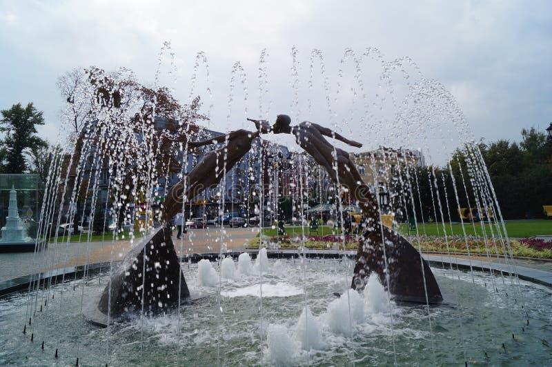 Monument aan liefde stock afbeelding