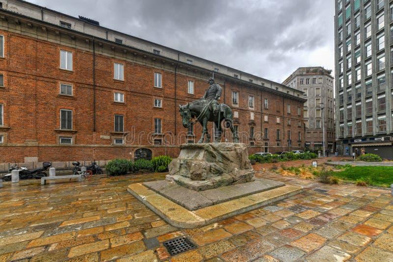 Monument aan Missori - Milaan, Italië royalty-vrije stock afbeeldingen