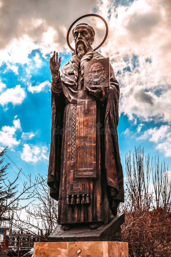 Monument aan Stepan van Sourozh royalty-vrije stock fotografie