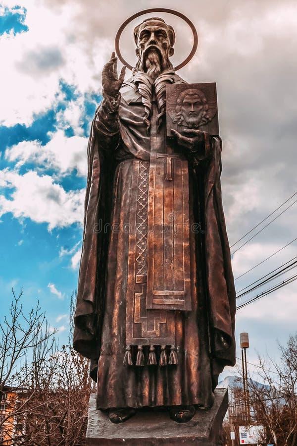 Monument aan Stepan van Sourozh royalty-vrije stock afbeelding