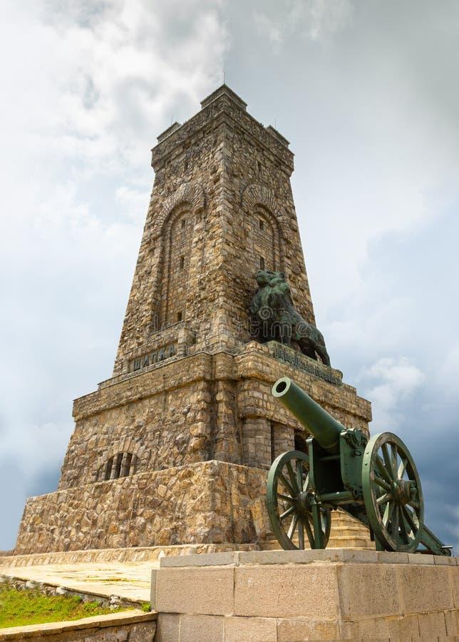 Monument aan Vrijheid Shipka royalty-vrije stock afbeelding
