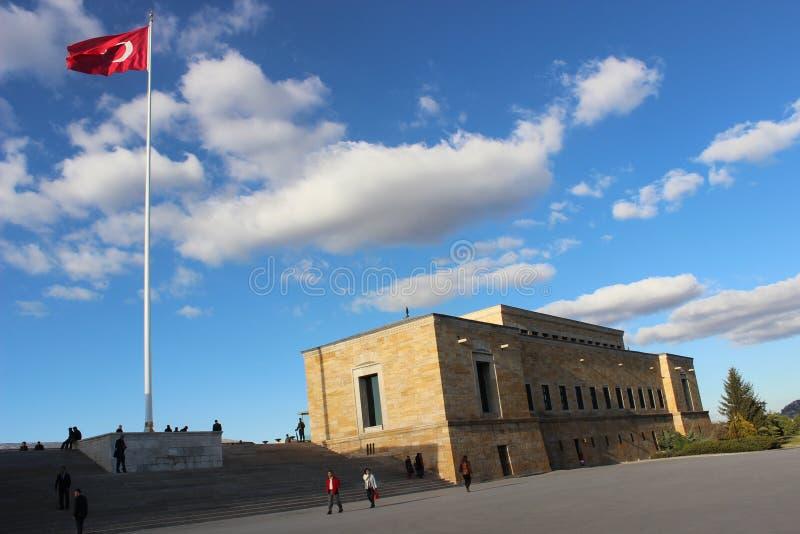 Monument in Ankara, Turkey royalty free stock image