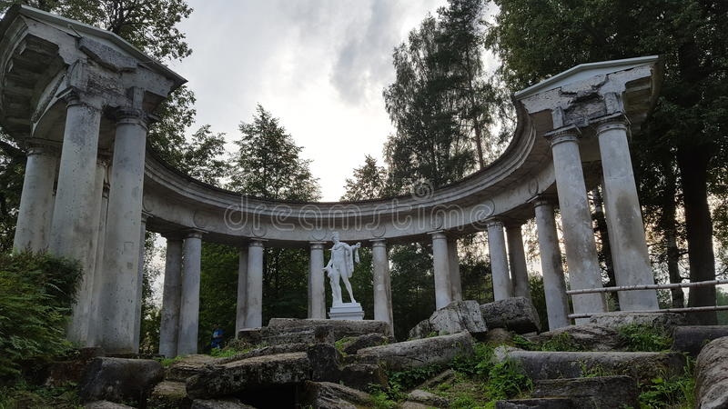 Monument Appolon royalty free stock photo