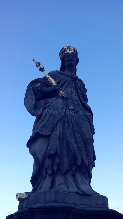 Monument au saint Kunigund image stock