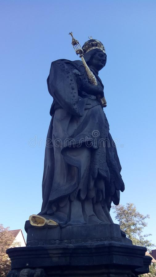 Monument au saint Kunigund photo stock