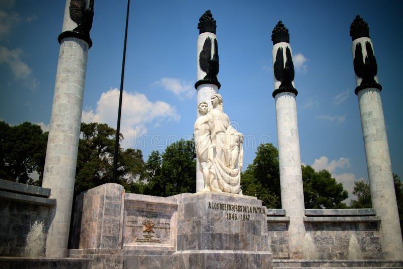 Monument aux cadets héroïques photographie stock