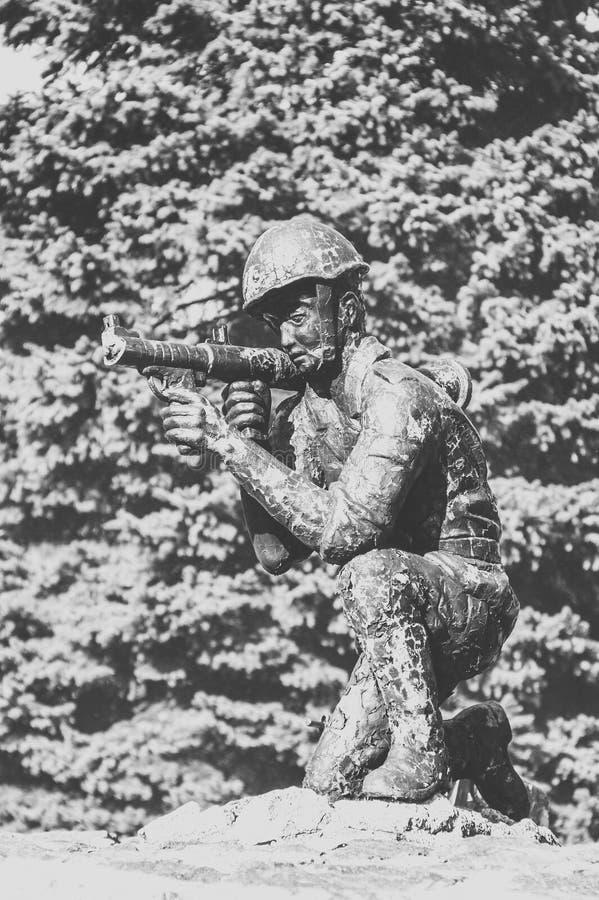 Monument aux soldat-Afghans image stock